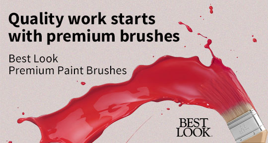 Best Look premium paint brushes