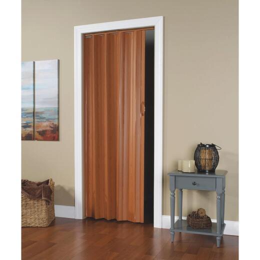 Spectrum Via 24 In. to 36 In. W. x 80 In. H. Fruitwood Accordion Folding Door