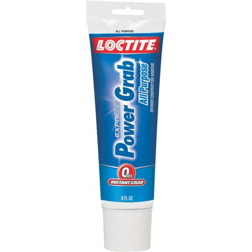 LOCTITE Power Grab Express 6 Oz. All-Purpose Construction Adhesive