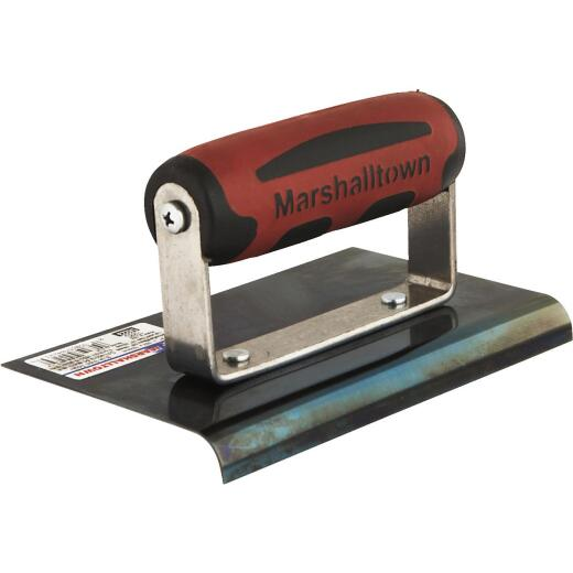 Marshalltown Blue Steel 6 In. x 4 In. Straight End Edger