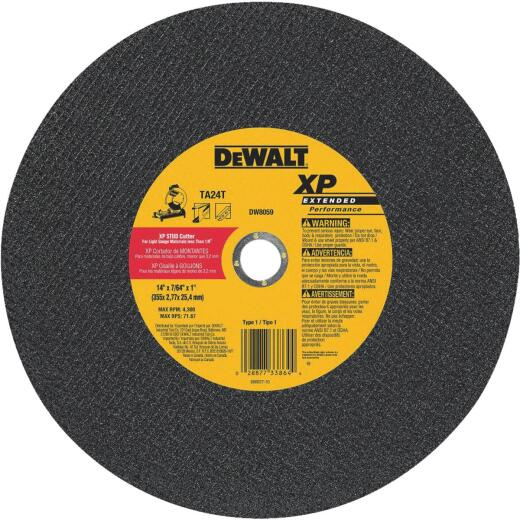 DeWalt XP Type 1 14 In. x 7/64 In. x 1 In. Metal Cut-Off Wheel