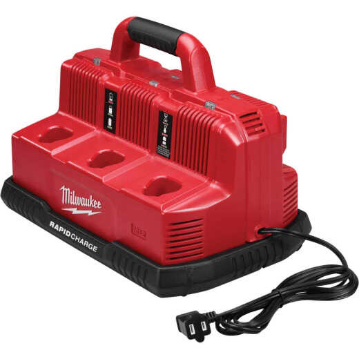 Milwaukee M18/M12 18 Volt and 12 Volt Lithium-Ion Rapid Charge Battery Charger Station