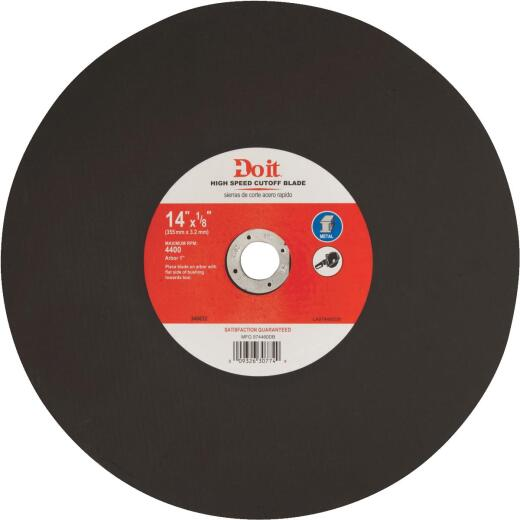 Do it Type 1 14 In. x 1/8 In. x 1 In. Metal Cut-Off Wheel