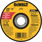 DeWalt HP Type 1 4-1/2 In. x 0.045 In. x 7/8 In. Metal/Stainless Cut-Off Wheel Image 1