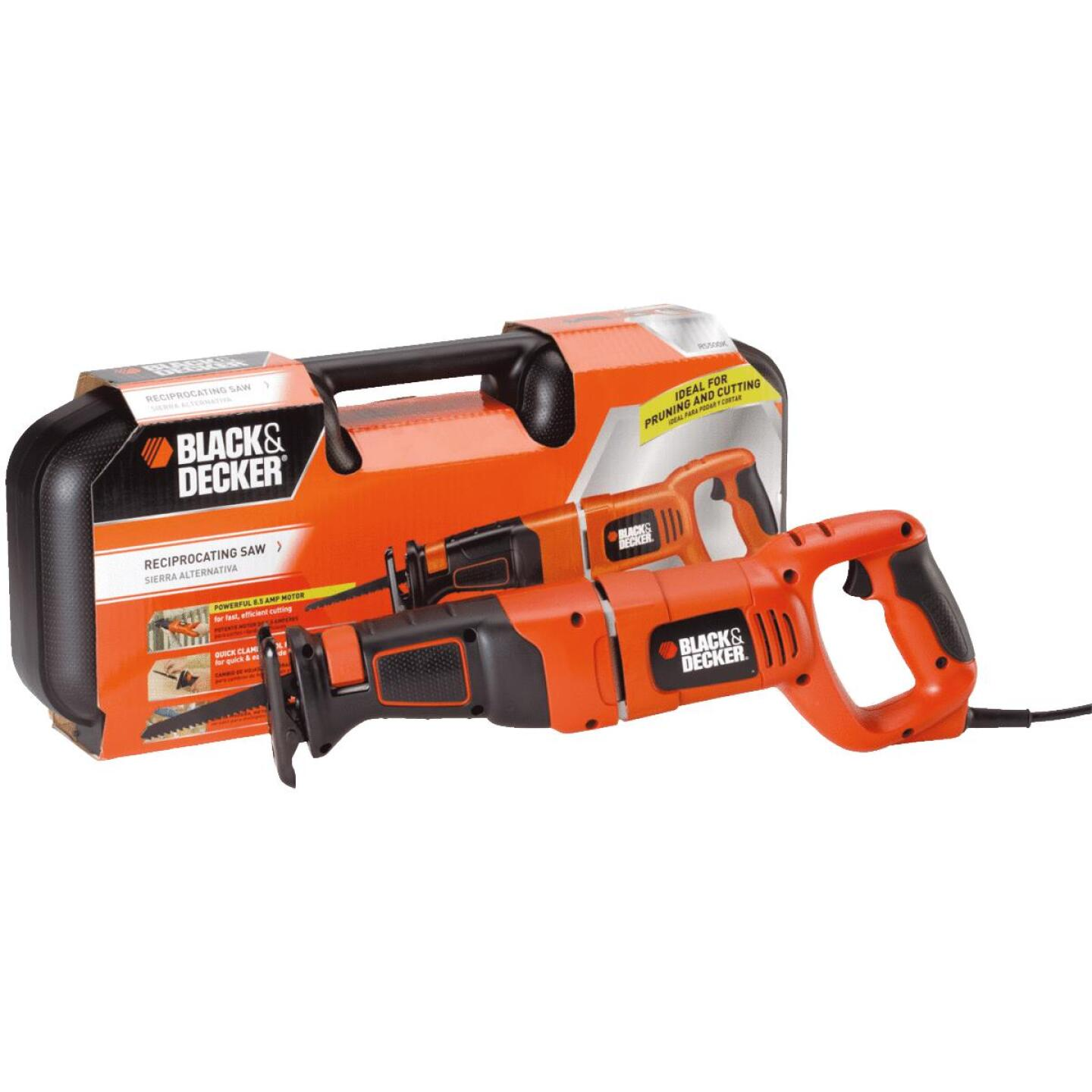 Black & Decker 8.5-Amp Reciprocating Saw Kit Image 7