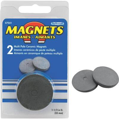 Master Magnetics 1-1/2 In. Multi Pole Ceramic Magnet Disc