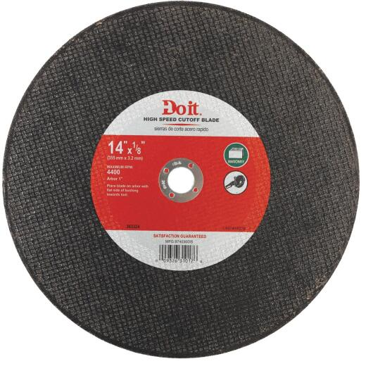 Do it Type 1 14 In. x 1/8 In. x 1 In. Masonry Cut-Off Wheel