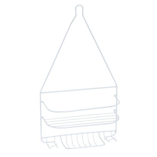 Homz Steel 10 In. x 18 In. Shower Caddy