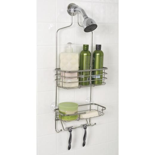 Zenith Stainless Steel 10-1/4 In. x 24-3/4 In. Shower Caddy