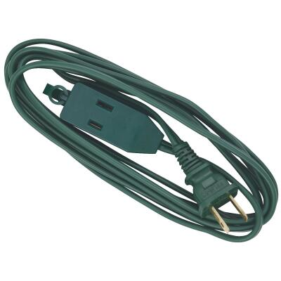 Do it 9 Ft. 16/2 Green Cube Tap Extension Cord