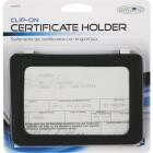 Custom Accessories Clip-On Car Certificate Holder Image 2
