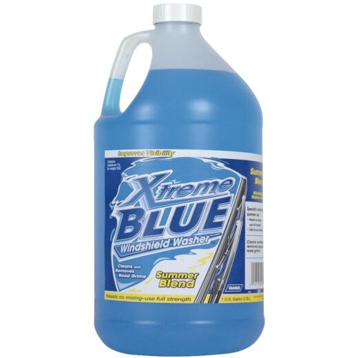 Camco Xtreme Blue 1 Gal. +32 Deg F Temperature Rating Summer Blend Windshield Washer Fluid