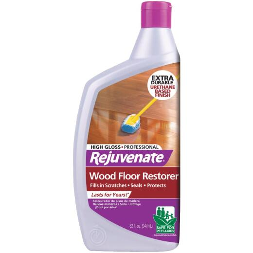 Rejuvenate 32 Oz. High Gloss Professional Wood Floor Restorer
