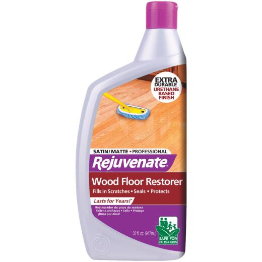 Rejuvenate 32 Oz. Satin/Matte Professional Wood Floor Restorer