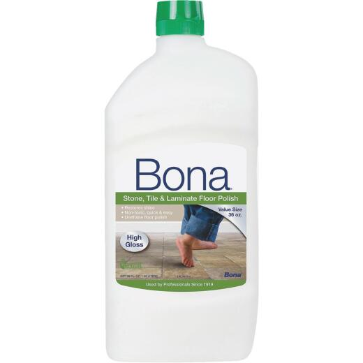 Bona 36 Oz. Stone Tile Laminate Floor Polish