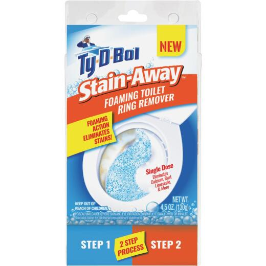Ty-D-Bol Stain-Away Foaming Toilet Ring Remover