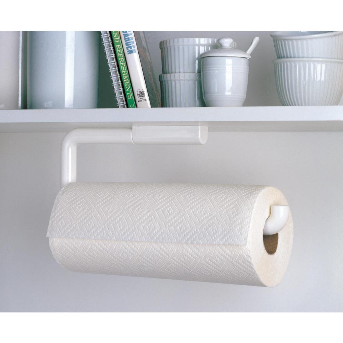 InterDesign Wall Mount Paper Towel Holder Image 1