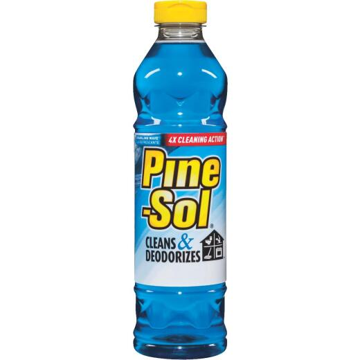 Pine-Sol 28 Oz. Sparkling Wave Multi-Surface All-Purpose Cleaner