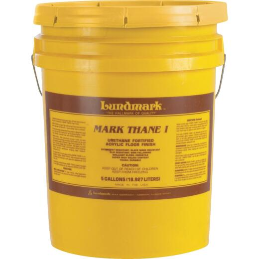 Lundmark 5 Gal. Mark Thane I Urethane Fortified Acrylic Floor Finish