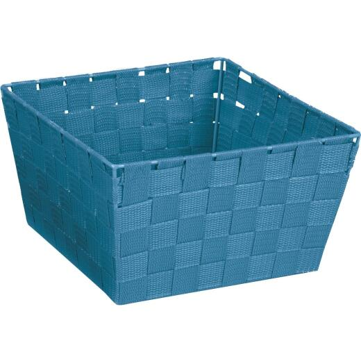 Home Impressions 9.75 In. x 5.5 In. H. Woven Storage Basket, Blue