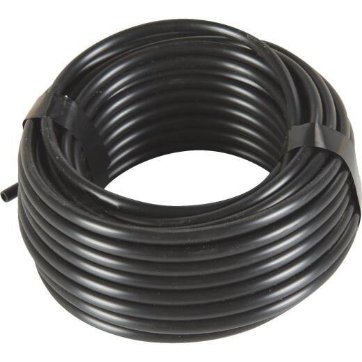 Raindrip 1/4 In. X 50 Ft. Black Poly Primary Drip Tubing