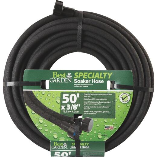 Best Garden 3/8 In. Dia. x 50 Ft. L. Soaker Hose