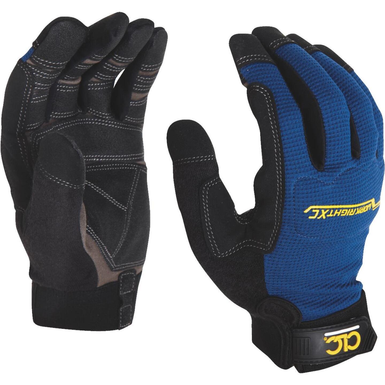 CLC Workright XC Men's Medium Synthetic Leather Flex Grip High Performance Glove Image 2