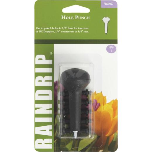 Raindrip 1/2, 5/8, 0.710 In. Tubing Hole Punch with Socket