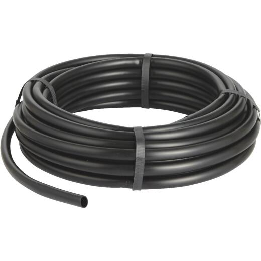 Raindrip 1/2 In. X 50 Ft. Black Poly Primary Drip Tubing