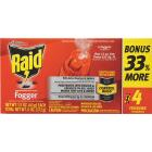 Raid Concentrated Deep Reach 1.5 Oz. Indoor Insect Fogger (4-Pack) Image 2