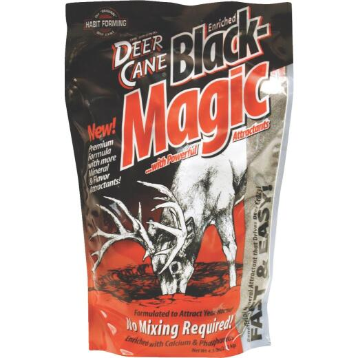 Deer Cane Black Magic 4-1/2 Lb. Granular Mineral Deer Attractant