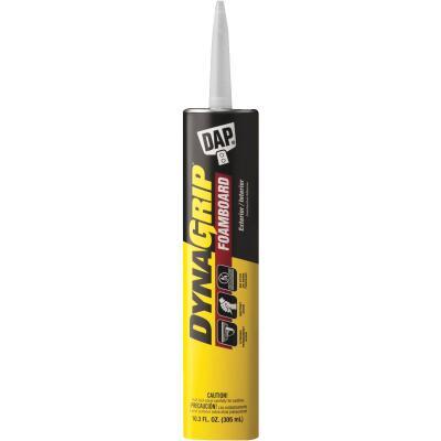 DAP DYNAGRIP 10.3 Oz. Foam Board Construction Adhesive