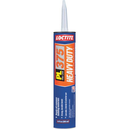 LOCTITE PL 375 10 Oz. Heavy Duty Construction Adhesive