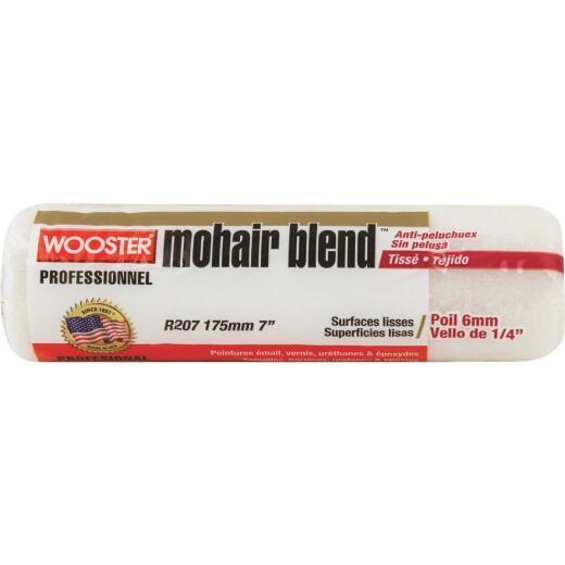 Wooster Mohair Blend 7 In. x 1/4 In. Woven Fabric Roller Cover