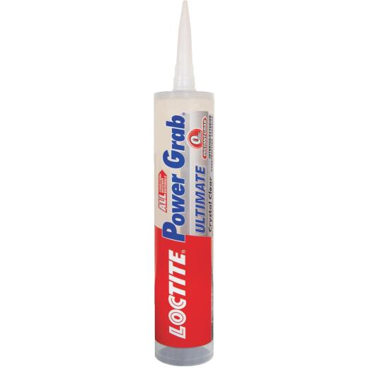 LOCTITE Power Grab 9 Oz. Crystal Clear Ultimate Construction Adhesive