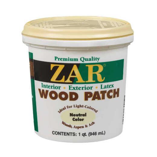 ZAR Neutral 1 Qt. Latex Wood Filler