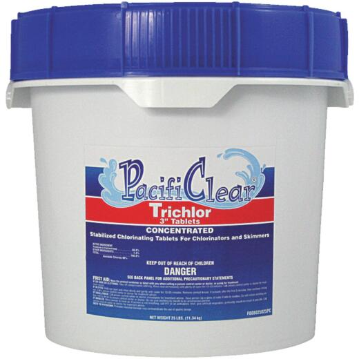 PacifiClear 3 In. 25 Lb. Trichlor Chlorine Tablet