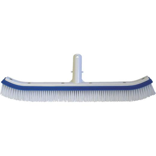 Jed Pool 18 In. L. Plypropylene Bristles Aluminum Back Curved Wall Brush