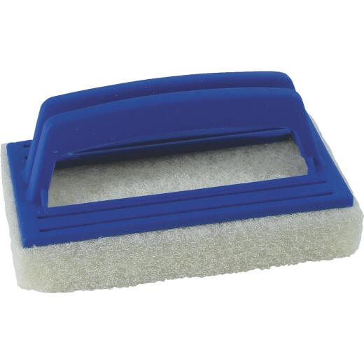 Jed Pool 5.5 In. L. Foam Scrubber Plastic Frame Multi Purpose Brush