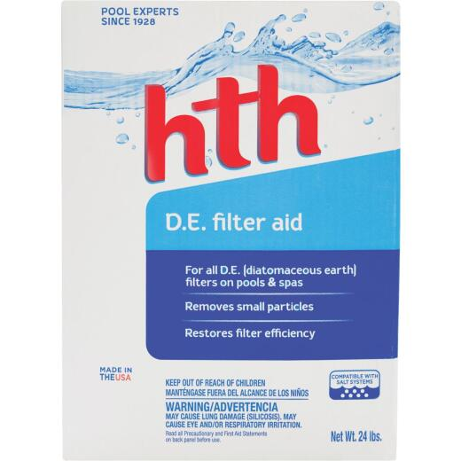 HTH 25 Lb. Powder Diatomaceous Earth Filter Cleaner