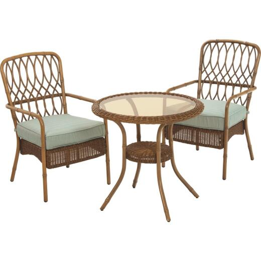 Donglin USA Pacific Grove 3-Piece Bistro Set with Cushions