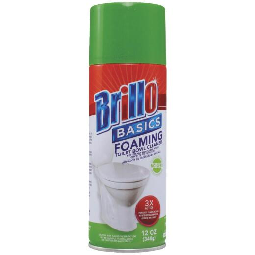 Brillo Basics 12 Oz. Foaming Spray Fresh Clean Toilet Bowl Cleaner